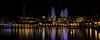 Azerbaijan Baku Flame Towers at Night