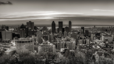 Montreal Morning Skyline