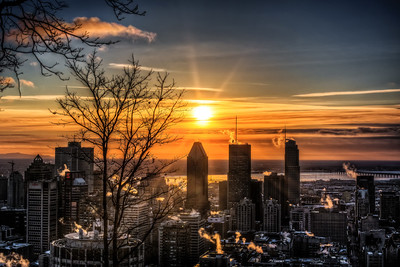 Montreal Morning Sunrise