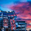 Sunset on the Broncos - Von + Peyton