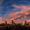 Denver Sunset - Half Moon