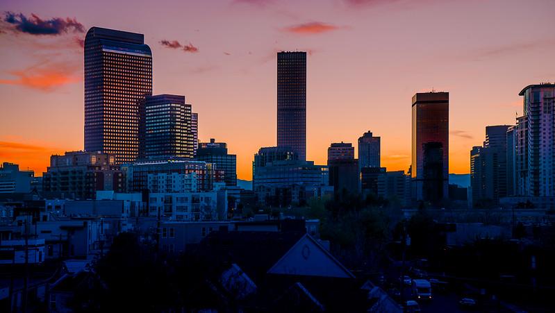 Denver Sunset - Halloween