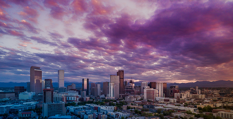 Denver - Cotton Candy Sunset