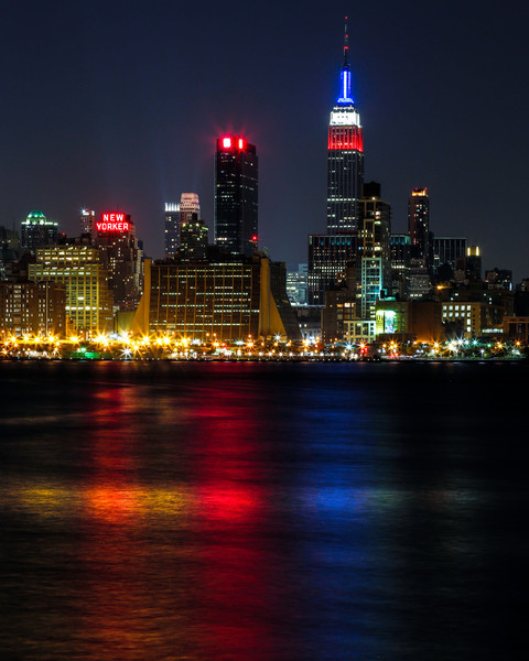 Manhattan from Lincoln Harbor in Weehawken, New Jersey