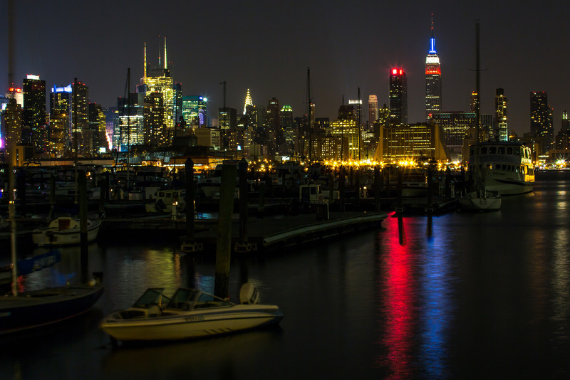 Lincoln Harbor and the New York Skyline