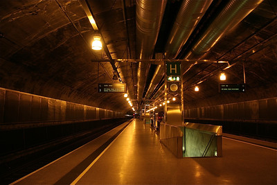 Oslo subway.