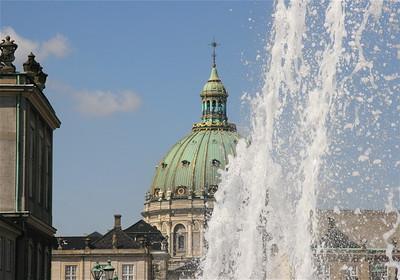 Waterballet. Kopenhagen, Denemarken.