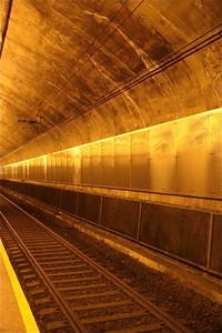 Gezichten in Oslo Subway.