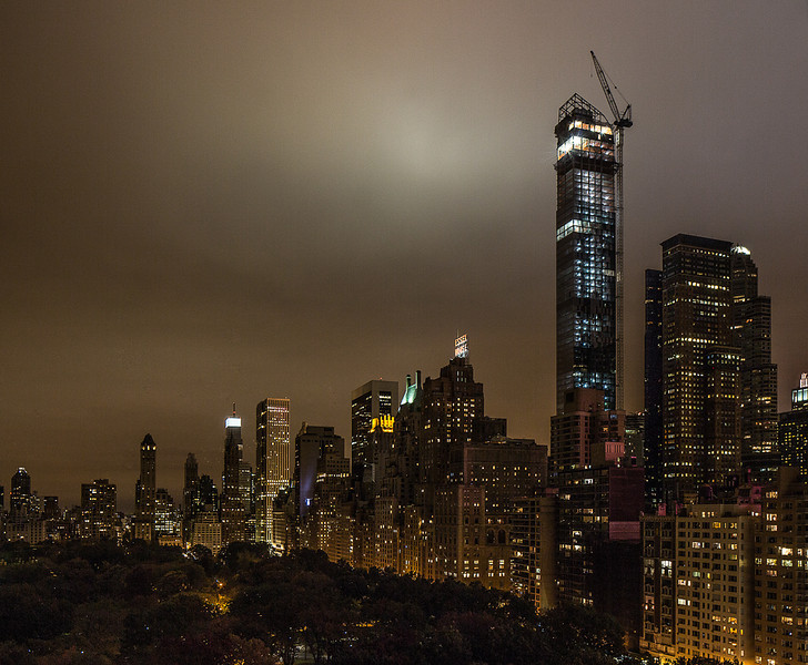 Central Park South Before Hurricane Sandy