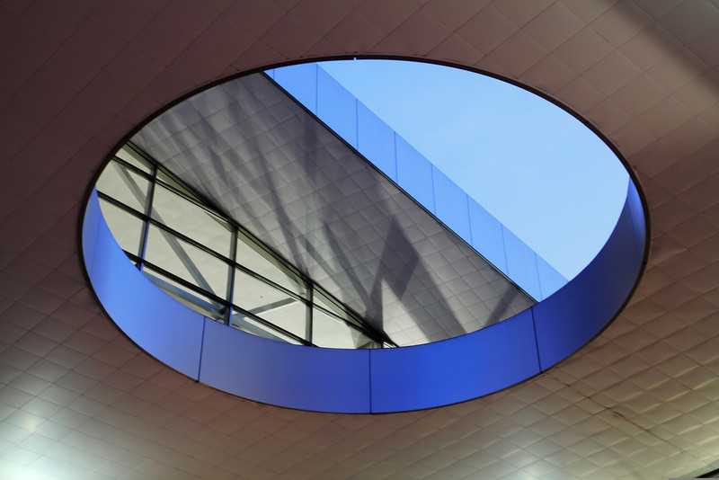 Eve of roof at Colorado Convention Center