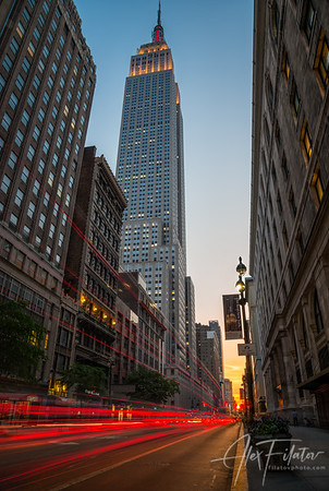 Manhattanhenge at 34th Street