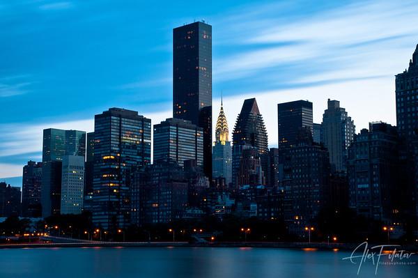 Gotham Blue Hour