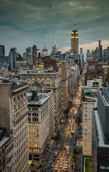 5th Avenue & Empire State Building