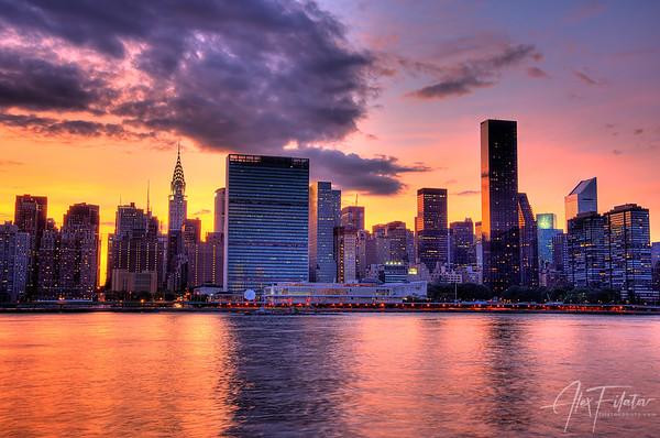 Midtown Sunset
