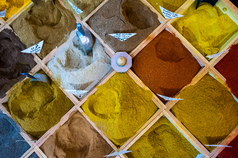 Spice Market in Jerusalem