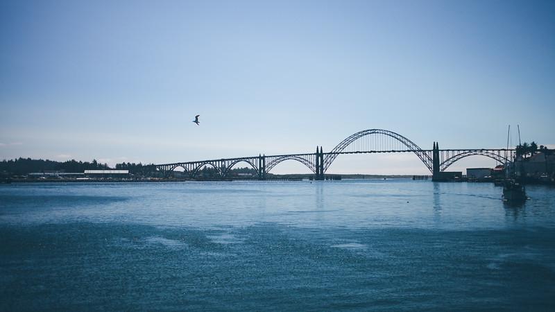 Yaquina Bay Bridge, Newport, Oregon