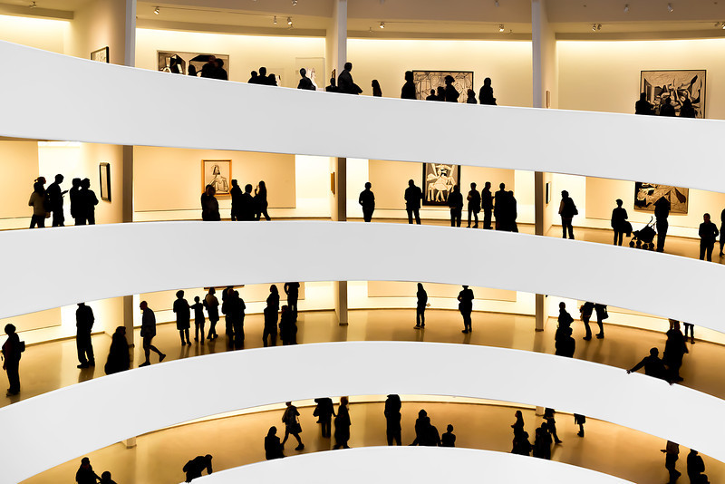 At the Guggenheim: Picasso Black & White