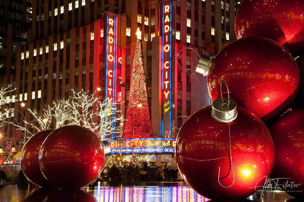 Festive Radio City Music Hall