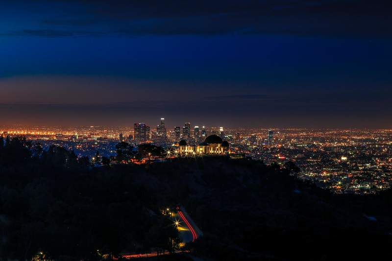 Early morning Griffith Observatory