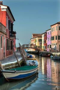 Colors in Burano - Venice