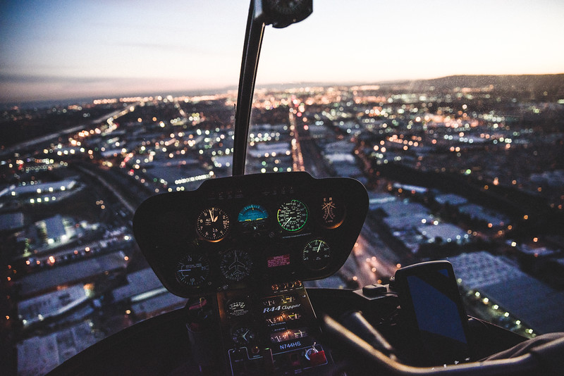 Helicopter Ride Over LA