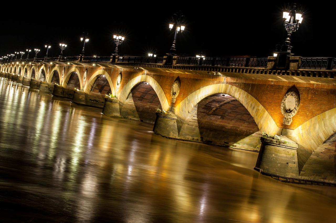 A Bridge in Bordeaux, France