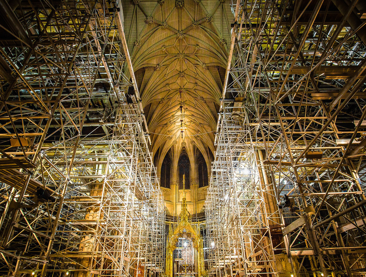 Renovation of St. Patrick's Cathedral