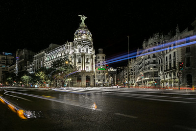 Metropolis - Madrid by night