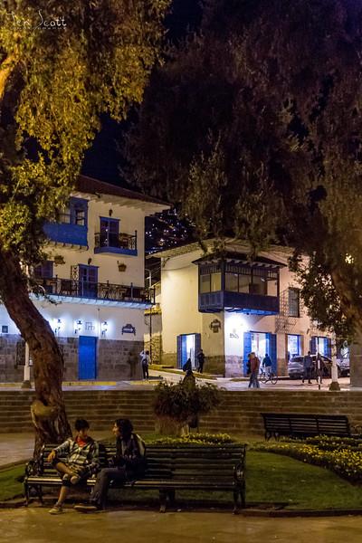 Cusco At Night 2