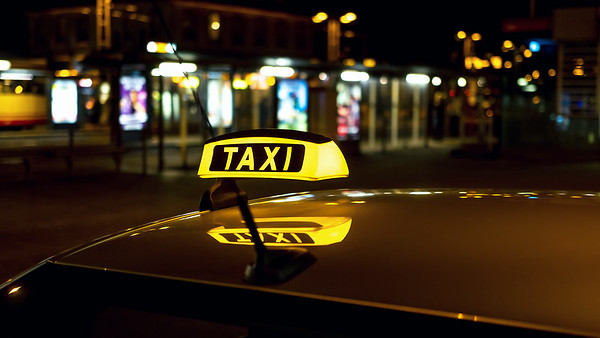 You called for a cab?