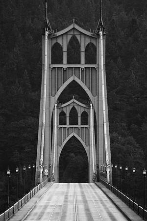St. Johns Bridge, Portland Oregon