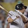 "<a href=""http://giants.mlb.com/team/player.jsp?player_id=474832#gameType='L'§ionType=career&statType=1&season=2012&level='ALL'"">Brandon Belt</a> - #9 - 1B<br /> Bats Left - Throws Left, Height: 6'5"", Weight: 220, Born: Apr 20, 1988"