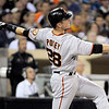"""<a href=""""http://mlb.mlb.com/team/player.jsp?player_id=457763&c_id=sf&player_name=Buster-Posey#gameType='L'§ionType=career&statType=1&season=2012&level='ALL'"""">Buster Posey</a> - #28 - C<br /> Bats Right - Throws Right, Height: 6'1"""", Weight: 220, Born: Mar 27, 1987"""