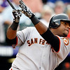 """<a href=""""http://giants.mlb.com/team/player.jsp?player_id=467055#gameType='L'§ionType=career&statType=1&season=2012&level='ALL'"""">Pablo Sandoval</a> - #48 - 3B<br /> Switch Hitter - Throws Right, Height: 5'11"""", Weight: 240, Born: Aug 11, 1986"""
