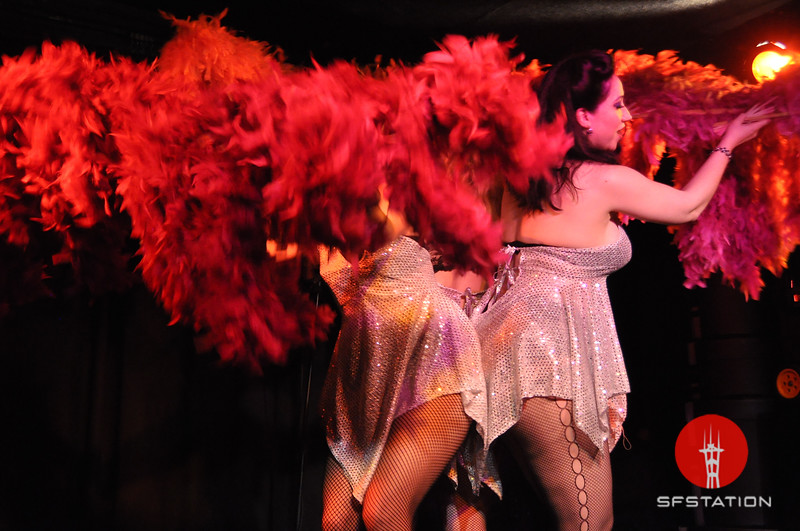 """Photo by Alex Akamine <br /><br /> <b>See event details:</b> <a href=""""http://www.sfstation.com/bombshell-bettys-burlesque-bailout-e1037881""""> Bombshell Betty's Burlesque Bailout</a>"""