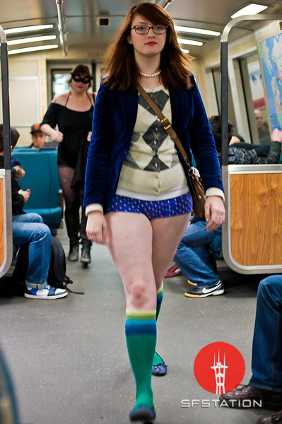 "Photo by Ezra Ekman <br /><br /> <b>See event details:</b> <a href=""http://www.sfstation.com/no-pants-subway-ride-2011-e1099071"">No Pants! Subway Ride 2011</a>"