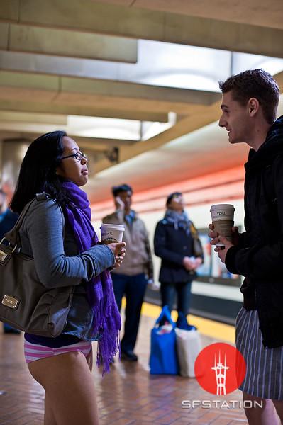 "Photo by Ezra Ekman <br /><br /> <b>See event details:</b> <a href=""http://www.sfstation.com/no-pants-subway-ride-2011-e1099071"">No Pants! Subway Ride 2011</a>"