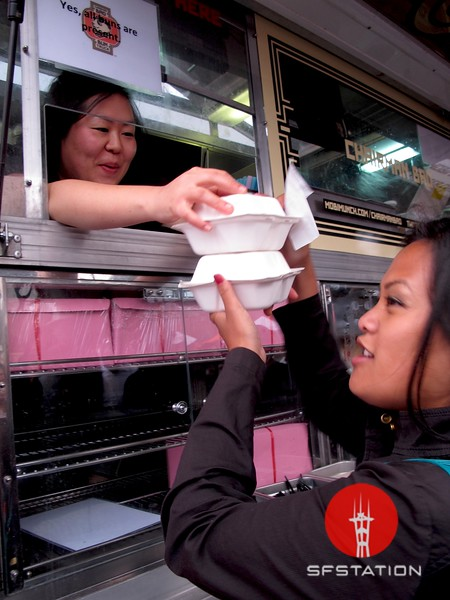 Photo by Lily Ko<br /> <br /> In This Scene:  Chairman Bao Bun Truck.
