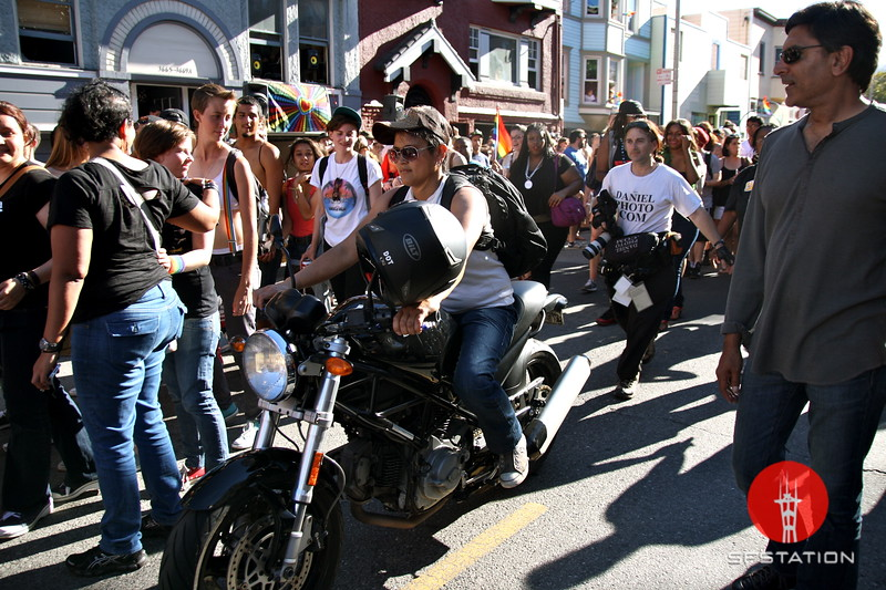 "Photo by Gabriella Gamboa<br /><br /><b>See event details:</b> <a href=""http://www.sfstation.com/sf-dyke-march-e1624742"">SF Dyke March</a>"