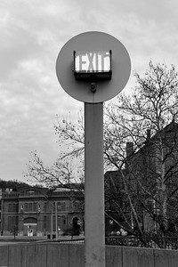 outdoor exit sign bw feb2011