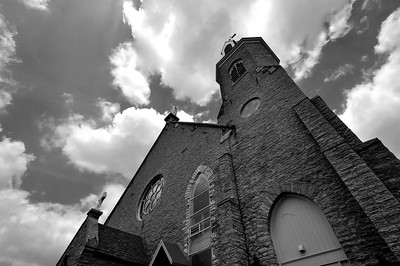 immaculata 2 bw may 2011