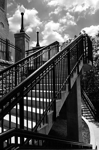 mt adams steps 3 bw may 2011