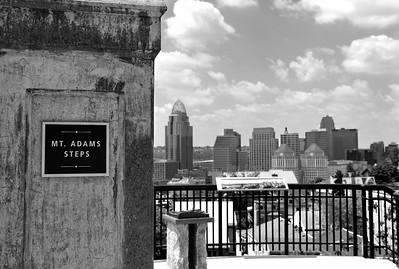 mt adams steps bw may 2011