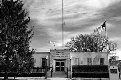 Silverton Municipal Building 6bw