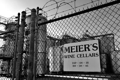 Silverton Meiers Winery 8bw