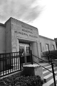 Silverton Municipal Building 4bw