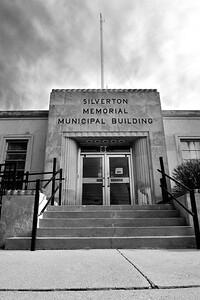 Silverton Municipal Building 2bw