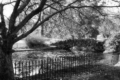 spring grove bridge 2 october 2011 bw