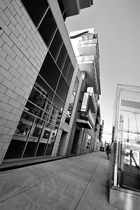 the banks sidewalk bw  june 2011