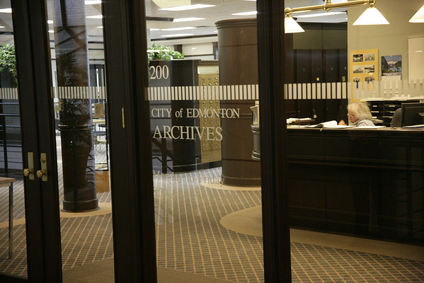 City of Edmonton Archives , Photo 2005
